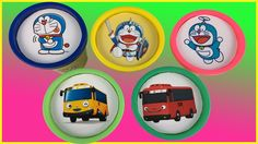 Learning Colors Doraemon Bus Tayo Play Doh Super Wings Cups Stacking Surprise Toys Kids Video Rhymes https://youtu.be/e4si8IPsedc