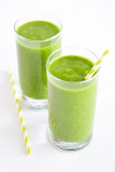 7 Delicious Green Smoothies That Will Keep You Full via @byrdiebeauty