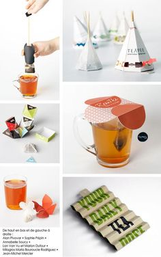Tea packaging collection PD