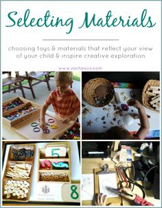 Selecting Materials | Day 10 - 30 Days to Transform Your Play #30daystyp