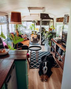 Trendy home design small spaces tiny house ideas Bus Living, Tiny House Living, Living Room, School Bus Tiny House, Tyni House, House Stairs, House Floor, Converted Vans, Converted School Bus