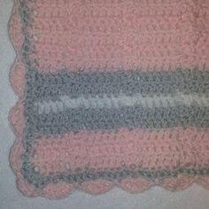 Kaitlin's Angels: JoAnna's Blanket -- 15in Crochet Blanket