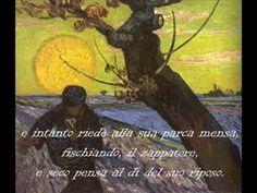 """""""Il sabato del villaggio"""" di Giacomo Leopardi"""
