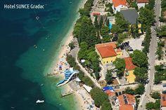 2016 - Chorvátsko - Gradac - Hotel Sunce