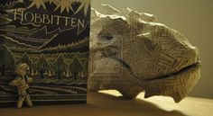 Incredible Smaug Book Sculpture Pops Off the Page - My Modern Metropolis