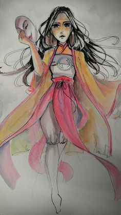 Sariatu (Kubo and the Two Strings) by silent-requiem.deviantart.com on @DeviantArt