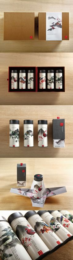 Here's the whole series of Taiwan Mountain #tea #packaging Sonya Yeselson. PD