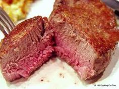 Oven Grilled Filet Mignon