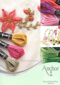 Buy Anchor Marlitt Threads Shade Card Online at www.sewandso.co.uk