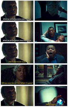 "HANNIBAL 2x13 Season Finale ""Mizumono"" oh my god I am crying just thinking about this moment in the episode and basically just all of it..."