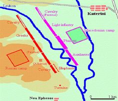 Μάχη της Πύδνας 168 π.Χ. Για τη συγκεκριμένη μάχη, που είναι από τις μεγαλύτερες επί ελληνικού εδάφους, οφείλουμε να επισημάνουμε την ανεπάρκεια των ιστορικών πηγών, οι οποίες βασίζονται κατά κύριο λόγο στις μαρτυρίες του Πλούταρχου,