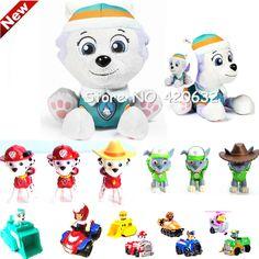 Patrulla Canina Toys Everest,Ryder,Skye,Chase Vehicle Car