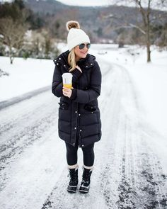 Snow Day Outfit | The Southern Style Guide #winterstyle #snowday