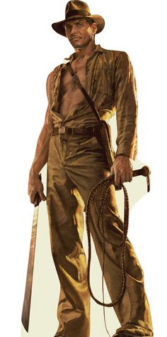 "Indiana Jones, from the ""Indiana Jones""-series."