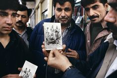 """What interested me was the intersection and interplay between those who shaped Kurdish life and the lives of the chroniclers who pictured them -- the photographers and those photographed, the points of cultural exchange, how the various protagonists crossed one another's paths. Both left their marks on Kurdish history. -Susan Meiselas from """"Kurdistan: In the Shadow of History"""""""