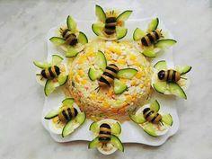 Food decoration - - food art - - Kochen - Home Cute Food, Good Food, Yummy Food, Food Carving, Food Garnishes, Garnishing, Food Decoration, Food Platters, Meat Trays