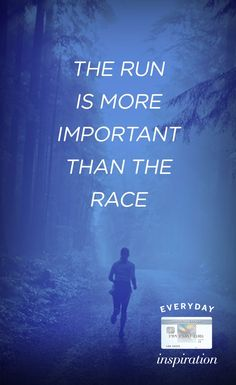 Setting new goals for yourself? It doesn't matter who wins the race, just enjoy the journey. #EveryDayMoments