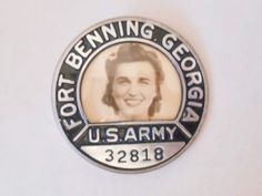 Fort Benning Georgia Army Badge 1940's WWII Era | eBay