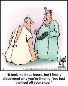 Funny Nurse Quotes, Funny Memes, Hilarious, Nursing Quotes, Nursing Memes, Herman Cartoon, Herman Comic, Cartoon Jokes, Funny Cartoons