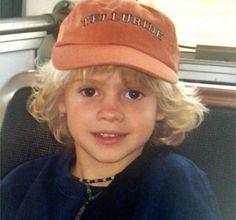 Awwww Jace was a cute baby boy
