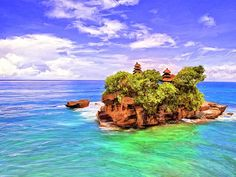 Gorgeous Places in Bali – Tanah Lot Temple, Kuta Beach and Gigit Waterfall