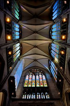 Interior of Cologne Cathedral, Cologne, Germany
