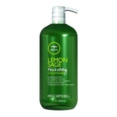 Paul Mitchell Lemon Sage Thickening 33.8 oz. Shampoo + 33.8 oz. Conditioner (Combo Deal) by Paul Mitchell. $49.99