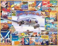 Come Fly With Me - 1000 Pieces - JUST RELEASED-White Mountain Puzzles