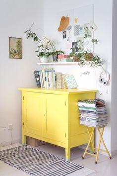 Inspiração decorativa* - Apontamentos de amarelo