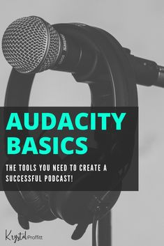 If youre interested in starting a podcast then one of the first questions youll ask is What kind of software do I need? Well if youre a PC user (like me) then the answer is Audacity. Podcast Setup, Podcast Topics, Podcast Ideas, Voice Acting, The Voice, Sell Music, Starting A Podcast, Site Hosting, Free Tips