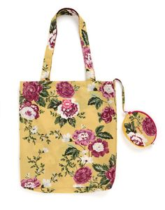 Joules ECOBAG Joules Printed ecobag, Ylwflor. Made to make a trip to the shops or market a little more stylish, this practical bag folds down into a zippered pouch for easy storage. The only question now is which print will you choose?