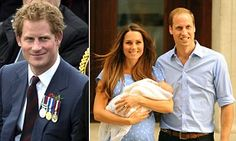 Prince Harry will fly out of UK tonight without meeting royal baby #DailyMail