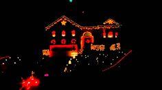 Heavy Metal Christmas light show - ohh this needs to be my house! Indoor Christmas Lights, Christmas Light Show, Christmas Lights Outside, Christmas Window Display, Christmas Light Displays, Xmas Lights, Decorating With Christmas Lights, Christmas Yard, Christmas Music
