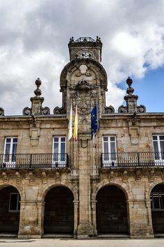 Detalle Fachada del Ayuntamiento de Lugo (Lugo - Spain)