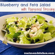Blueberry and Feta Salad with Poppyseed Dressing Recipe