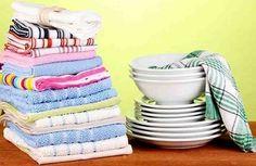 У кухонных полотенец такая уж судьба - они находятся в зоне риска и постоянно пачкаются. Пятна на кухонных полотенцах появляются разнообразные, и с ними не так-то просто справиться. Существуют разные способы удаления пятен, одни хорошо удаляют жирные пятна, другие - пятна от овощей и фруктов,