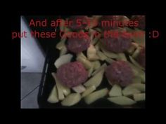 HomeBaked Burgers With Potatoes(Check It)