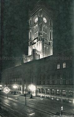 Bilderbuch Berlin - Berliner Rathaus 1930