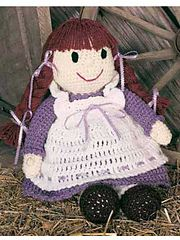 Pioneer Becky Doll free pattern.