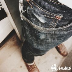 Good morning guys! It's the end of the week and let's start it with another #cultizmfades entry! Josh sent us a nice pic of his Nudie Jeans Tube Tom, which he has been wearing for 7 months now. He never washed or soaked it. Instead, he put it in the freezer 2 times! Never done that myself but it's nice that you denim heads are open for every experiment! Keep it up!