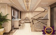 Beautiful Classical Kitchen Design By Luxury Antonovich Luxury Antonovich Interior Design Company Dubai Interior
