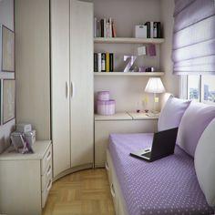 Ideas Little Nursery - Home Decoration Small Room Decor, Small Room Bedroom, Bedroom Decor, Tiny Bedroom Design, Home Room Design, Loft Bed Plans, Single Bedroom, Minimalist Room, Tiny Apartments