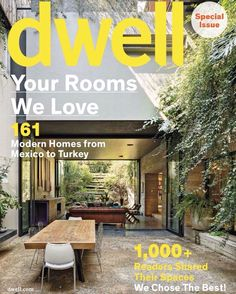 "Dwell on Instagram: ""It's that time of year again! You have until March 1 to submit photos of your house for our Your Rooms We Love special issue, which will be entirely filled with reader-submitted content. Head over to the link in our bio to submit your homes! #dwellrooms This is last year's cover, shot by @rafaelgamo !"""