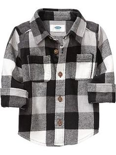 Fletch: 18-24 mos Buffalo-Plaid Flannel Shirts for Baby | Old Navy