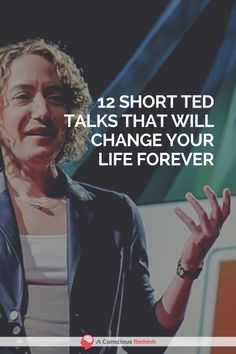 Are you looking for the very best TED talks that have the power to change your life for the better These 12 can do just that watch them now motivation happiness inspirin. Self Development, Personal Development, Leadership Development, Best Ted Talks, Ted Talks Video, Affirmations, Stephen Covey, Mental Training, Read Later