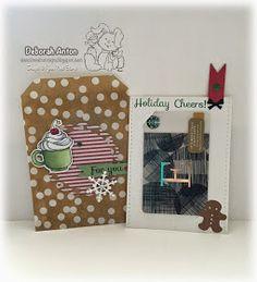 Your Next Stamp: Holidays Cheers stamp and die, Open Scallop Die, Seasons Die Set Holiday Break, Cheers, December, Stamp, Seasons, Create, Projects, Cards, Card Holder