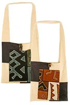 Mudcloth Sling Bags