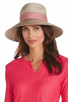 87f4958d6a252 Down-Turned Brim Fedora  Sun Protective Clothing - Coolibar