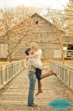#Rustic Inspired #Engagement #Photography By: www.AngelaWilsonP... #countrycouple #relationshipgoals #sweetcouple #country