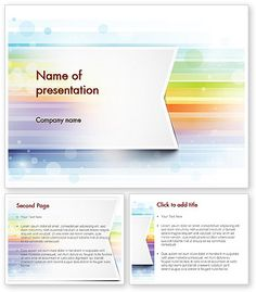 http://www.poweredtemplate.com/11593/0/index.html Soft Color Horizontal Lines PowerPoint Template